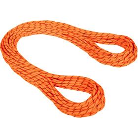 Mammut 8.7 Alpine Sender Dry Lina 50m, pomarańczowy/czarny